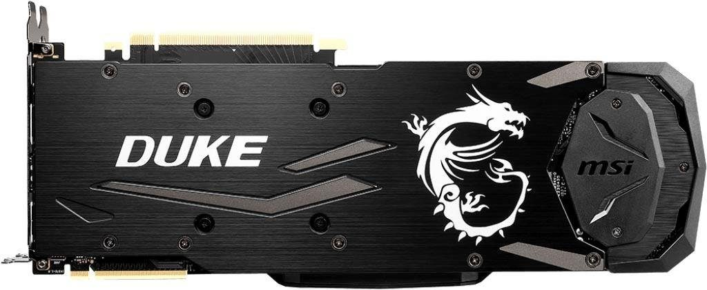 MSI »GeForce RTX 2080 DUKE 8G OC« Grafikkarte (8 GB, GDDR6)